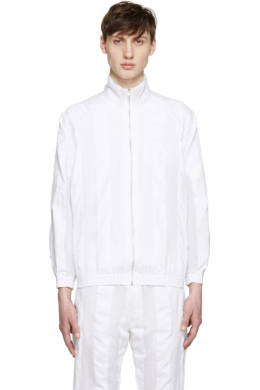 Cottweiler - White Striped Robe Jacket