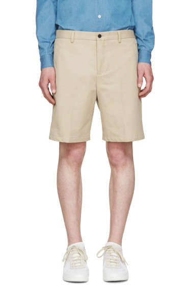 Éditions M.R  - Beige Chino Shorts