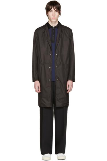 CMMN SWDN - Black Technical Marx Coat