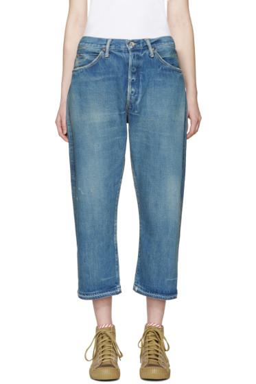 Chimala - Blue Vintage Baggy Jeans