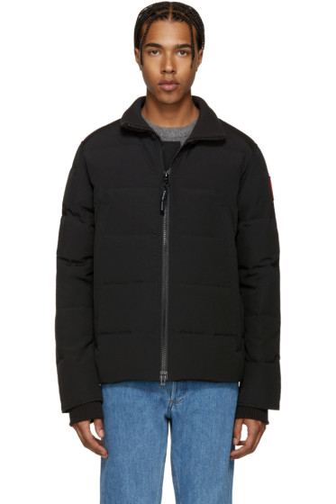 Canada Goose - Black Down Woolford Coat
