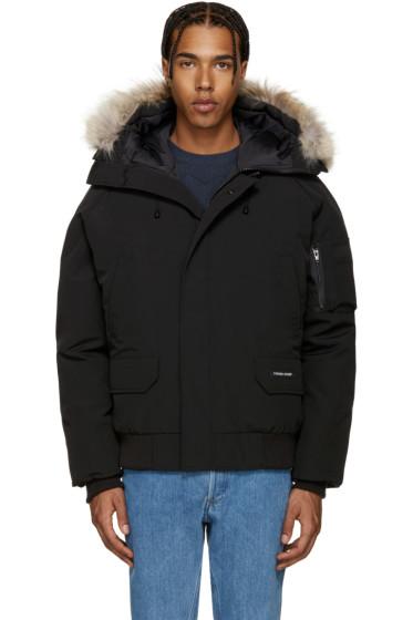 Canada Goose - Black Down Chilliwack Coat