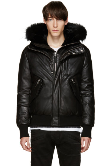 Mackage - SSENSE Exclusive Black Down Glen Jacket