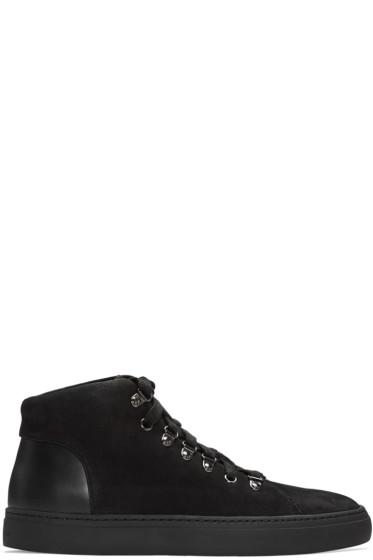 Tiger of Sweden - Black Yngve High-Top Sneakers