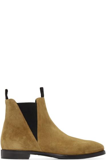 Acne Studios - Beige Zack Chelsea Boots