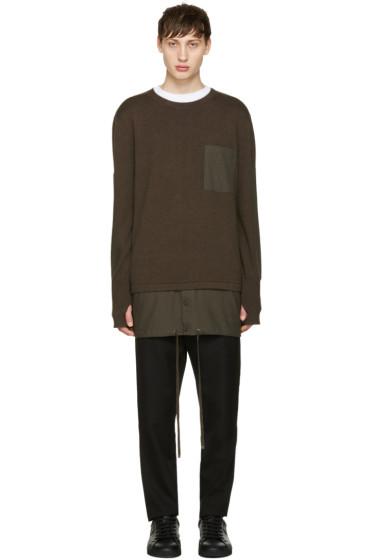 Helmut Lang - Green Trooper Sweater