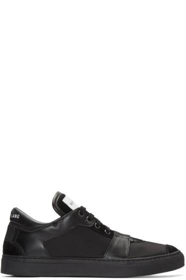 Helmut Lang - Black Nylon Heritage Sneakers