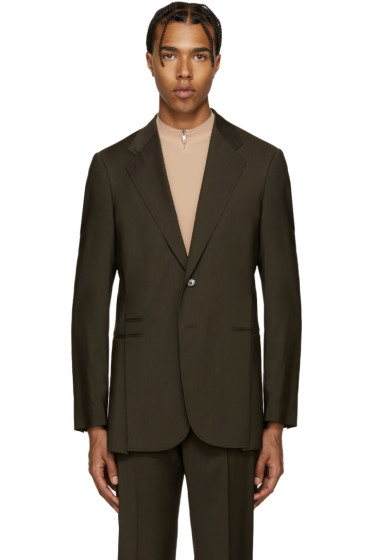 Maison Margiela - Green Wool Split Blazer