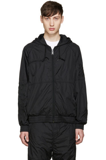 Alexander Wang - Black Embroidered Nylon Jacket