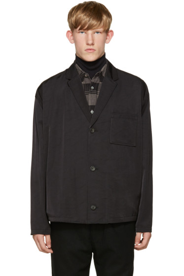 Robert Geller - Black Sean Blazer