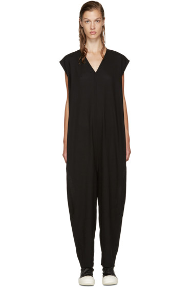 Rick Owens - Black Bodybag Jumpsuit