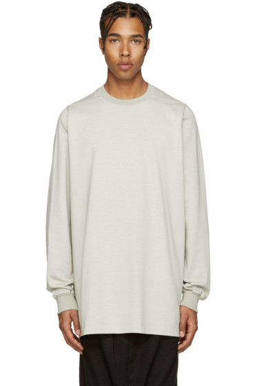Rick Owens - Grey Overlong Pullover