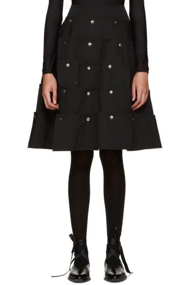 Comme des Garçons - Black Tiered Skirt