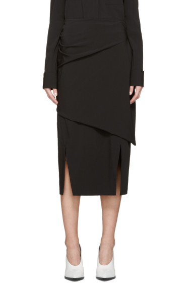 Jil Sander - Black Bacon Skirt