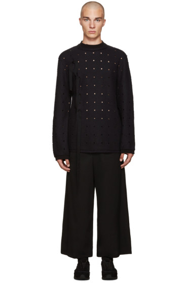 Damir Doma - Black Wonka Dots Sweater