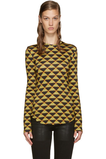 Givenchy - Multicolor Eyes Top