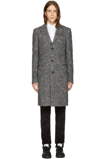 BLK DNM - Grey Leopard 15 Coat