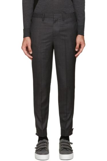 Neil Barrett - Grey Wool Trouser