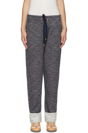 See by Chloé - Blue Drawstring Lounge Pants