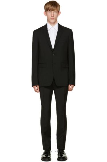 Burberry - Black Wool Suit