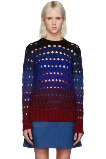 Kenzo - Blue Basketweave Sweater