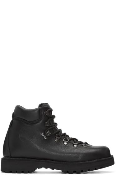 Diemme - Black Leather Roccia Boots