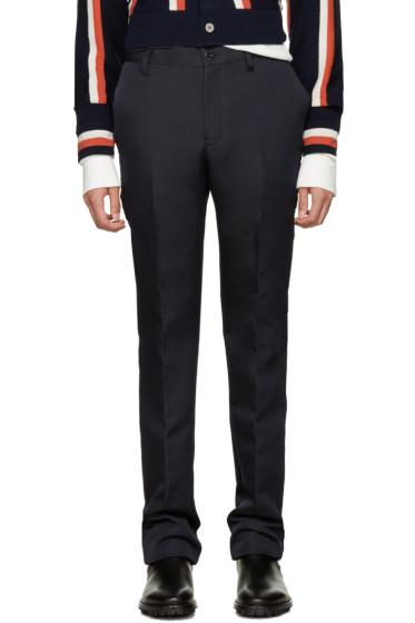 Sacai - Navy Twill Trousers