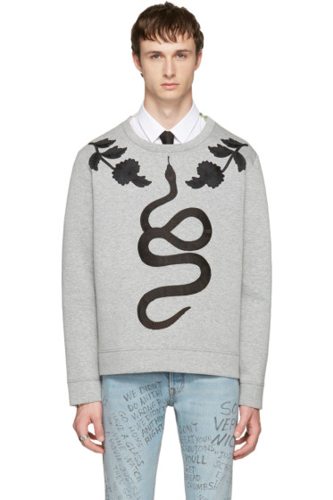 Gucci - Grey Snake Sweatshirt