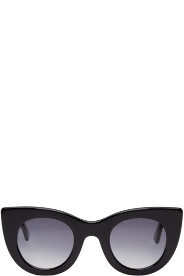 Thierry Lasry - Black Orgasmy Cat-Eye Sunglasses