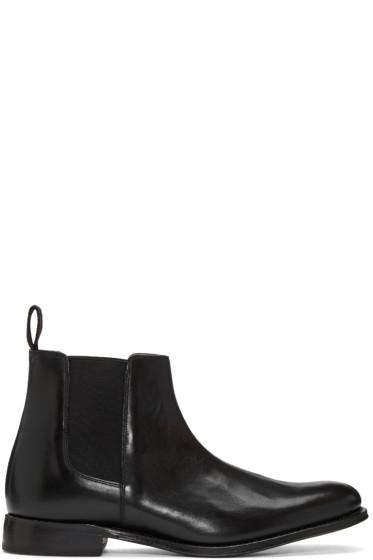 Grenson - Black Leather Declan Chelsea Boots