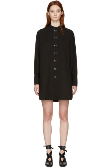 J.W. Anderson - Black Oversized Ring Dress