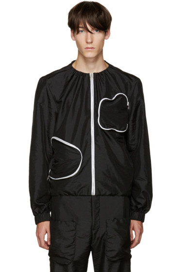 J.W. Anderson - Black 3D Pocket Jacket