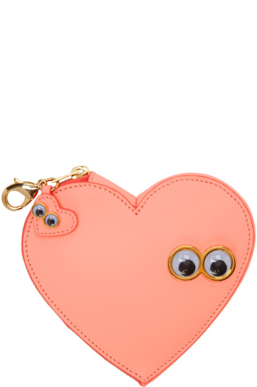 Sophie Hulme - Pink Stanley & Flo Coin Pouch