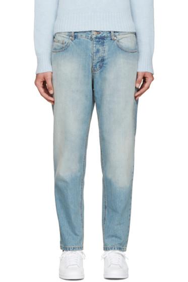 AMI Alexandre Mattiussi - Blue Carrot-Fit Jeans