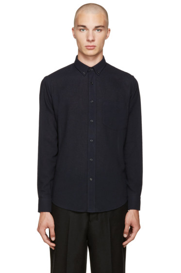 AMI Alexandre Mattiussi - Navy Summer Fit Shirt