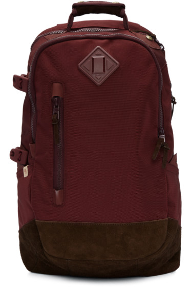 Visvim - Burgundy Ballistic 20L Backpack