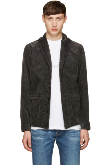 Visvim - Black Kobush Shawl Collar Jacket
