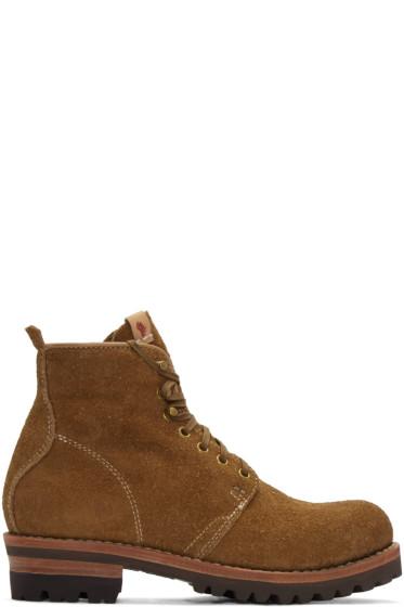 Visvim - Brown Folk Zermatt Boots