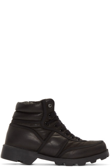 Christian Peau - Black CP MT Zip High-Top Sneakers