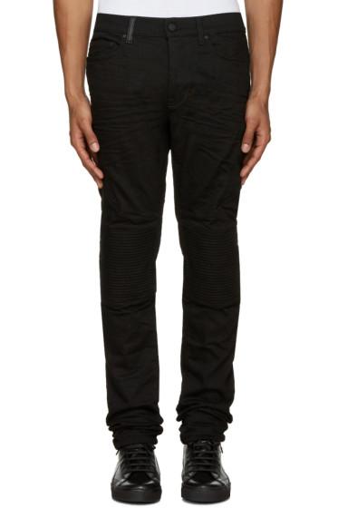 Marcelo Burlon County of Milan - Black Biker Jeans