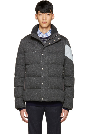 Moncler Gamme Bleu - Grey Quilted Down Jacket