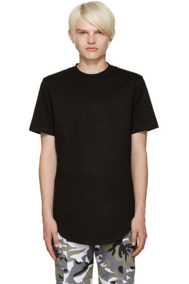 Pyer Moss - Black Zipper T-Shirt