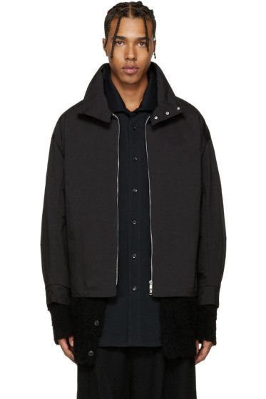 Lad Musician - Black Vest Jacket