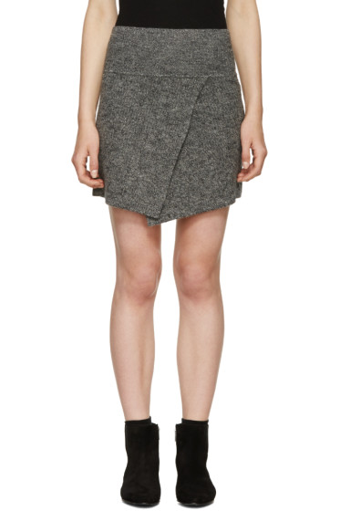 Isabel Marant Etoile - Grey Estelle Perfect Winter Skirt