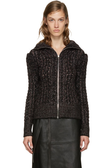 Isabel Marant - Black Easley Zip-Up Sweater