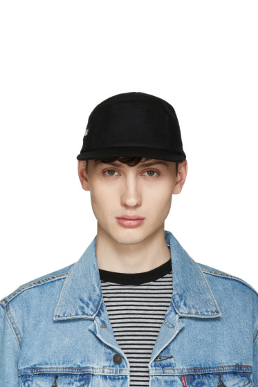 Larose - Black Zip Five Panel Cap