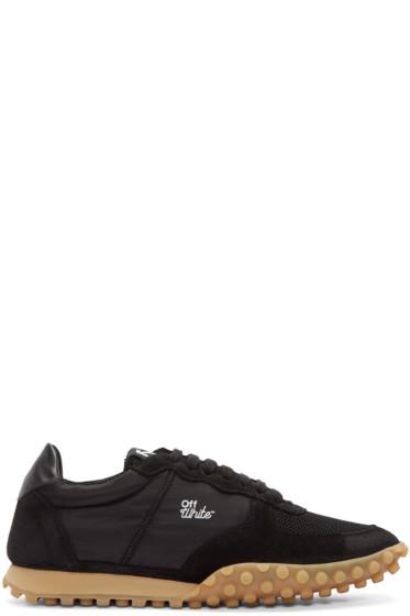 Off-White - Black Vintage Runner Sneakers