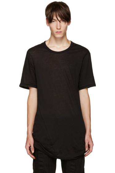11 by Boris Bidjan Saberi - Black Dye T-Shirt