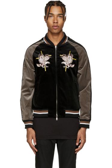Diet Butcher Slim Skin - Reversible Black Souvenir Jacket