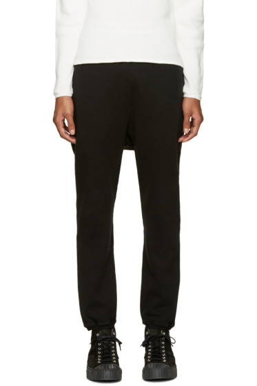 Undecorated Man - Black Fleece Lounge Pants